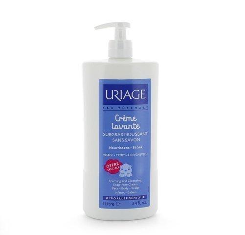 Crema Lavante, 500 ml. + 500 ml. GRATIS! - Uriage
