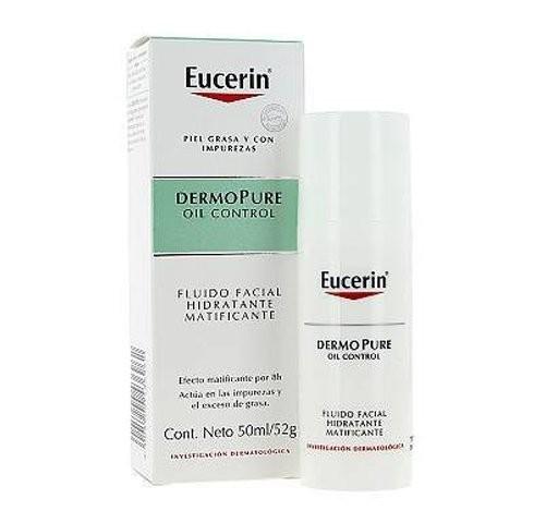 Dermopure Oil Control Fluido Facial Hidratante Matificante 50 Ml Eucerin