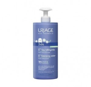 1ª Agua Limpiadora de Bebé, 500 ml.- Uriage
