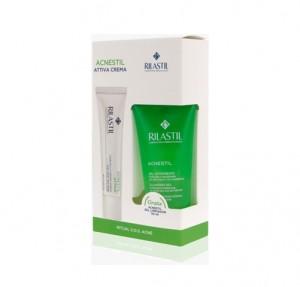 Acnestil Attiva Crema, 40 ml. + Acnestil Gel Limpiador, 50 ml. de Regalo! - Rilastil