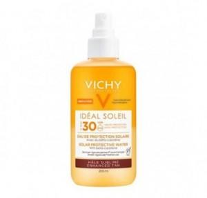 Agua de Protección Solar Luminosidad SPF 30, 200 ml. - Vichy