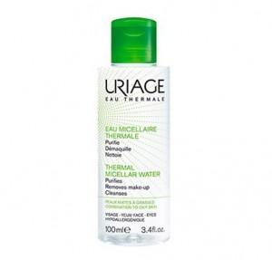 Agua Micelar Termal Pieles Mixtas-Grasas, 100 ml. - Uriage