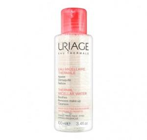 Agua Micelar Termal Pieles Sensibles Y Con Rojeces, 100 ml. - Uriage