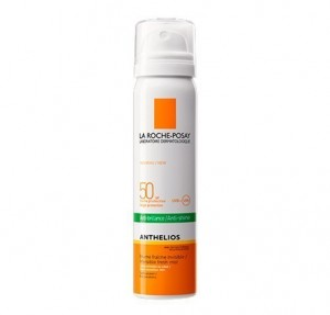 Anthelios Bruma Facial Invisible Anti-Brillos SPF 50+, 75 ml. - La Roche Posay