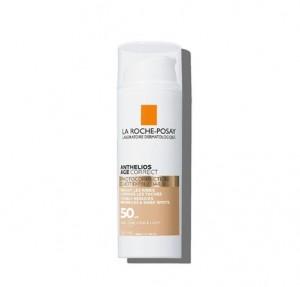 Anthelios Age Correct SPF 50 Con Color, 50 ml. - La Roche Posay