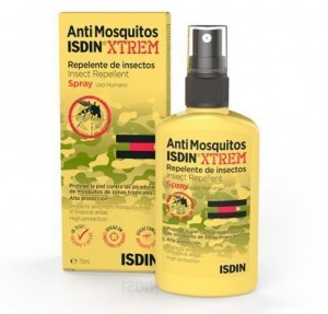 AntiMosquitos Xtrem Repelente de Insectos Spray, 75 ml. - Isdin