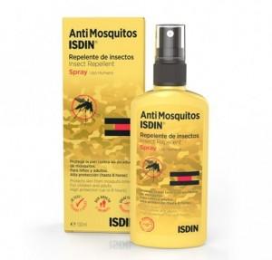 AntiMosquitos Repelente de Insectos Spray, 100 ml. - Isdin