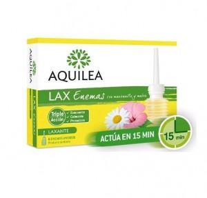 Aquilea LAX Enemas, 6 unid. - Aquilea Uriach