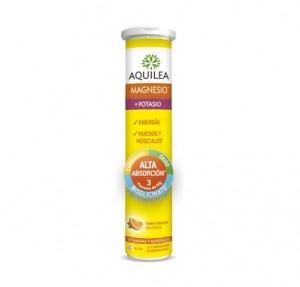 Aquilea Magnesio + Potasio, 28 Comp Efervescentes. - Aquilea Uriach