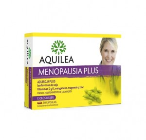 Aquilea Menopausia Plus, 30 Cápsulas. - Aquilea Uriach