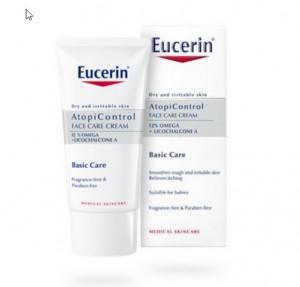 AtopiControl Crema Facial, 50 ml. - Eucerin