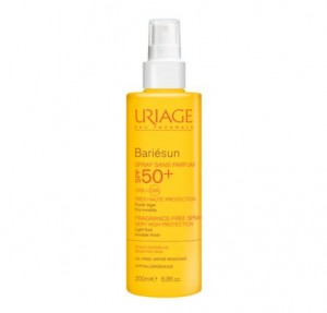 Bariésun Spray Sin Perfume SPF50+, 200 ml. - Uriage