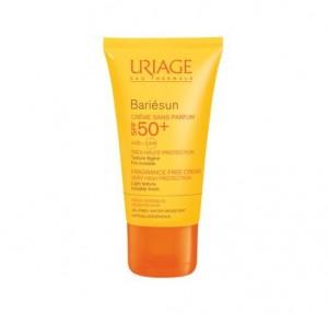Bariésun Crema Sin Perfume SPF50+, 50 ml. - Uriage