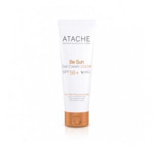 Be Sun Gel Cream Color SPF 50+, 50 ml. - Atache