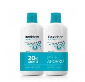 Pack Bexident Encías  Uso Diario Colutorio, 500 ml + 500 ml. - Isdin
