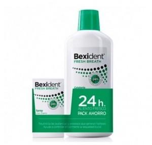 Pack Bexident Freh Breath Colutorio 500 ml + Spray Fresh Breath de Regalo.- Isdin