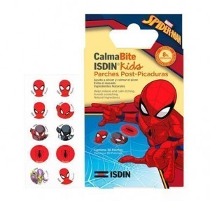 CalmaBite Kids ¨Spider-Man¨ Parches Post-Picaduras , 30 p. - Isdin