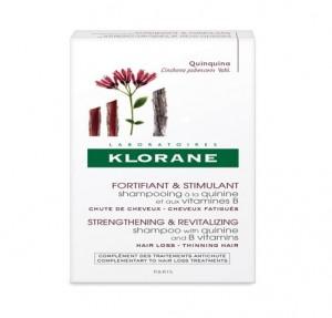 Champú Estimulante y Fortificante a la Quinina Con Vitaminas B, 200 ml. - Klorane