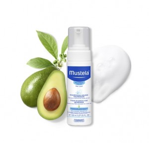 Champú Mousse Recién Nacido, 150 ml. - Mustela