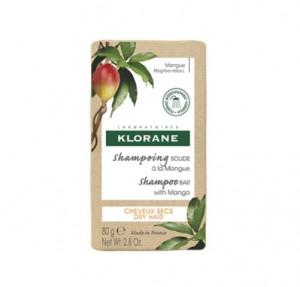 Champú Sólido al Mango, 80 g. - Klorane