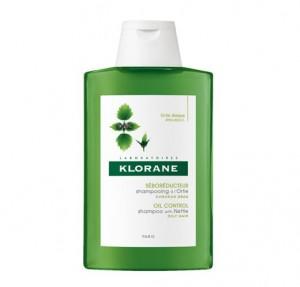 Champú Tratante Seborregulador A LA ORTIGA, 400 ml. - Klorane