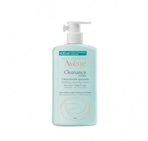 Cleanance Hydra Crema Limpiadora Calmante, 400 ml. - Avene