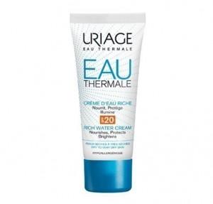 Crema de Agua Rica SPF20, 40 ml. - Uriage