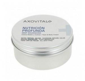 Crema Nutrición Profunda Rostro y Cuerpo, 150 ml. -  Axovital