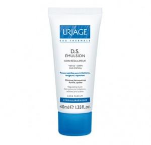 D.S. Émulsion Tratamiento Regulador, 40 ml. - Uriage