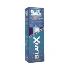 Dentífrico BlanX White Shock Protect, 50 ml. - Serra Pamies