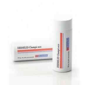 Dermilid Champú Seco, 100 gr. de Polvo Micronizado. - Demilid Farma