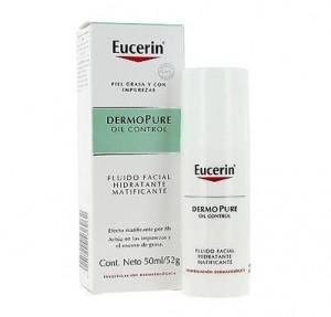 Dermopure Oil Control Fluido Facial Hidratante Matificante, 50 ml. - Eucerin