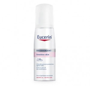 Desodorante Piel Sensible Spray 24h, 75 ml. - Eucerin