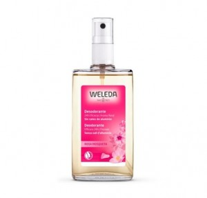 Desodorante Spray de Rosa, 100 ml. - Weleda