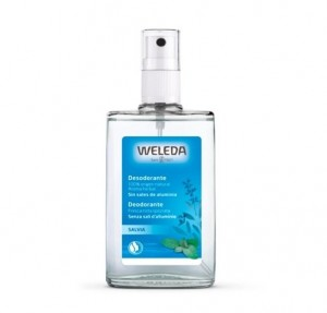 Desodorante Spray de Salvia, 100 ml. - Weleda