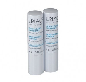 Duo Stick labial Hidratante, 2 x 4 g. - Uriage