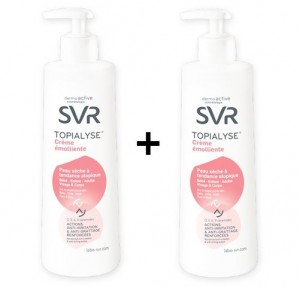 DUO Topialyse Crema Emoliente, 2x400 ml. - SVR