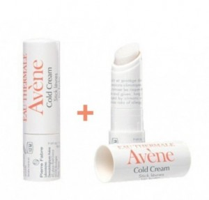 Duplo Stick Labial Cold Cream, 2 x 4 gr. - Avene