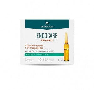 Endocare Radiance C Oil-free Ampollas, 10 x 2 ml. - Cantabria Labs