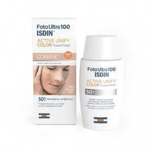 Foto Ultra 100 Active Unify Color Fusion Fluid SPF 50+, 50 ml. - Isdin