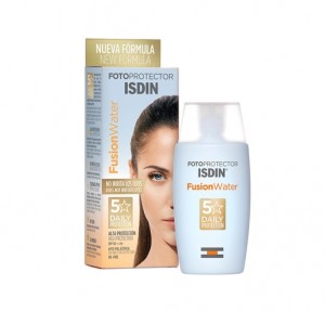 Fotoprotector Fusion Water SPF 50, 50 ml. - Isdin