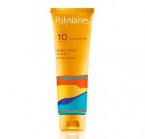 Gel Nacarado Al Monoi Spf 10, 125 ml. - Polysianes