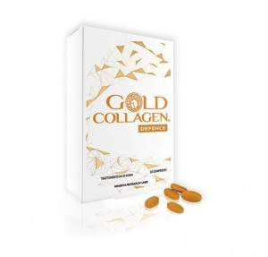 Gold Collagen Defense, 30 Comprimidos. - Areafar