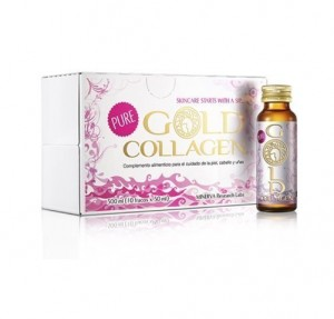 Gold Collagen Pure, 10 frascos x 50 ml. - Areafar