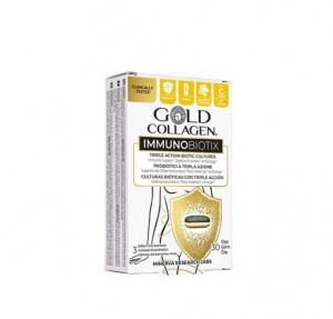 Gold Collagen Immunobiotix, 30 Comprimidos. - Areafar