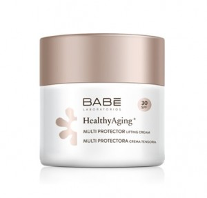 Healthy Aging+ Crema Lifting Multi Protectora SPF30, 50 ml. - BABE