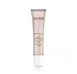 Healthy Aging+ Multi Corrector Tensor de Ojos y Labios, 15 ml. - BABE