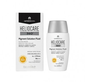 Heliocare 360º Pigment Solution Fluid SPF 50+, 50 ml. - Cantabria Labs