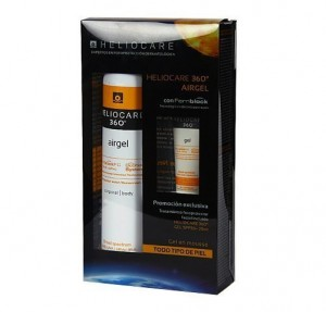 Heliocare 360º Airgel SPF50 Spray Corporal, 200 ml. + Heliocare 360º GEL SPF50, 25 ml. de REGALO!