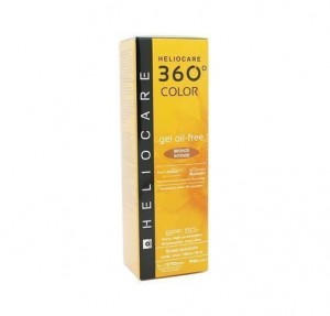 Heliocare 360° Gel Oil Free SPF 50+ Color Bronze Intense, 50 ml. - Cantabria Labs